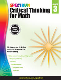 spectrum critical thinking for math grade 3 spectrum