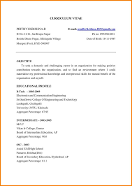 Sample Resume For Mba Freshers by Resume Format For Fresher Mba Hr Fresher Resume Format Doc 5 Hr