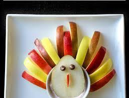 recipe turkey fruit yogurt snack for thanksgiving la jolla