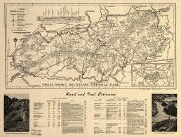 Tennessee Mountains Map by File Great Smoky Mountain National Park Map 1941 Jpg Wikimedia