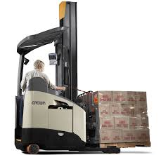 rm rmd series reach lift trucks crown equipment corporation