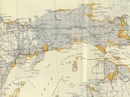 Algonquin Map Glacial Lake Algonquin