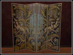 Screen Room Divider Second Marketplace Re Deco Folding Screen Room