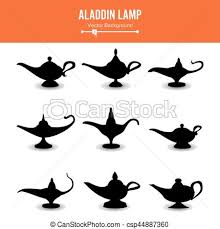 clip art vector aladdin lamp vector icons aladdins lamp