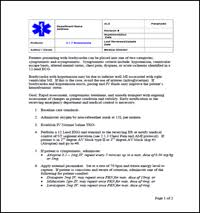 sop center ems template