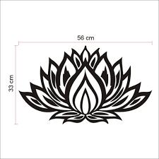 lotus flower wall decal u2013 bargains