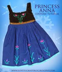 Princess Anna Halloween Costume Princess Anna Dress Tutorial Diy Free Pattern Diy Costumes