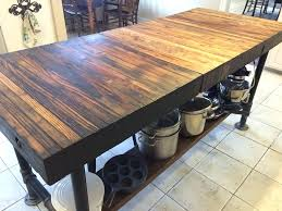 kitchen island butcher block table butcher block island table bldg kitchen island butcher block