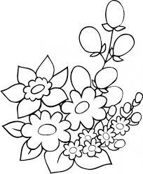 imagenes dibujos colorear flores hermosas dibujos
