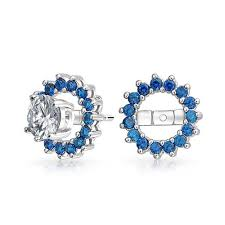 earring jackets color cz earring jackets for studs