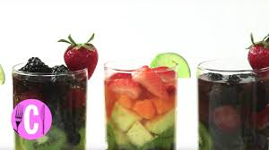cosmopolitan recipe the prettiest sangria recipe ever cosmopolitan youtube