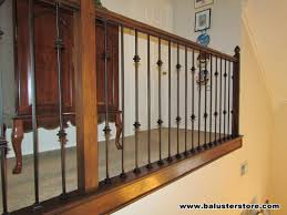 Banister Railing Parts Iron Stair Parts Patterns High Quality Powder Coated Stair Parts