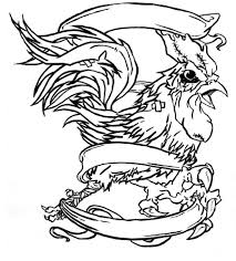 fighting rooster drawings free download clip art free clip art