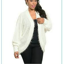 boutique plus size cocoon sweater cardigan plus size new from