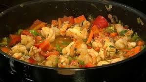 cajun küche gumbo koch mit oliver