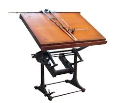 Antique Drafting Table Superior Antique Drafting Table 3 Vintage Drawing Board Home
