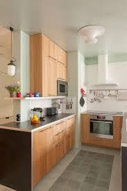 entre cuisine cuisine bois des cuisines tendance copier c t maison photo en
