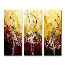yellow colorfull handmade dance abstract painting on canvas high quality large canvas paintings canvas