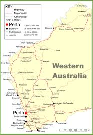 australia map of cities large detailed map of western australia with cities and towns