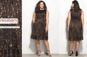 plus size fashion find of the day luxe by carmen marc valvo plus