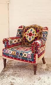 Patchwork Armchair For Sale поющий ветер Singing Wind дизайн Pinterest