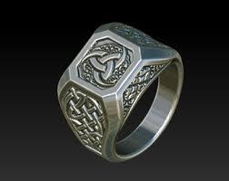 mens celtic rings mens rings signet ring celtic ring wedding ring celtic jewelry