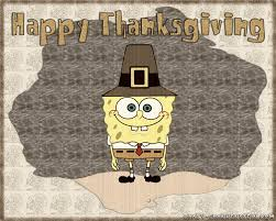 spongebob squarepants images spongebob thanksgiving wallpaper hd