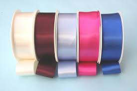 satin ribbon faced satin ribbon 38mm x 25m