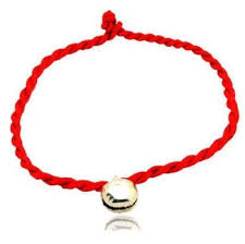 bracelet with red string images Good luck kabbalah red string of faith rope bracelet with bell jpg