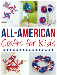 20 all american crafts for kids pint sized treasures