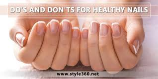 do u0027s and don u0027ts for healthy nails fingernail problems and