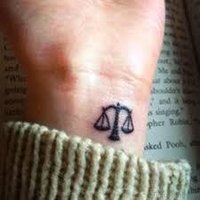 30 splendid libra tattoos on wrist