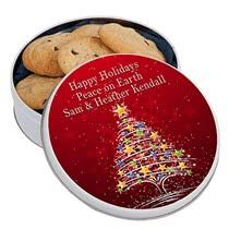 personalized cookie tins custom cookie tins shindigz
