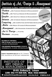 Interior Designing Courses In Usa by Institute Of Art Design And Management Lahore Admission 2017