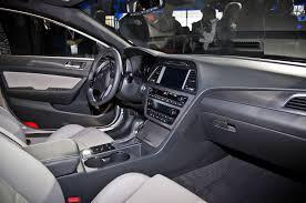 2015 Hyundai Genesis Interior 2015 Hyundai Sonata First Look Motor Trend