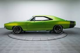 1968 dodge charger green 1968 dodge charger rk motors