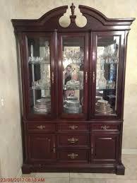 cherry wood china cabinet cherry wood bassett furniture china cabinet furniture in palm bay fl