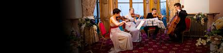 wedding backdrop hire northtonshire string quartets northtonshire hire from alive network