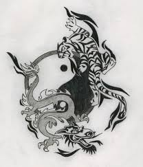 best 25 dragon yin yang tattoo ideas on pinterest yin yang wolf
