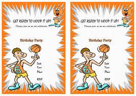 caillou birthday invitations basketball birthday invitations u2013 birthday printable
