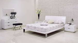 bedroom simple white modern bedroom design ideas with white