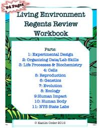 living environment regents review workbook editable with answers