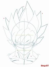 25 draw goku ideas goku super saiyan 7