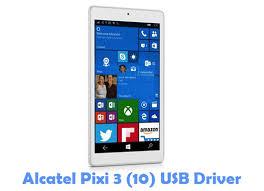 Fabuloso Download Alcatel Pixi 3 (10) USB Driver | Phone USB Drivers #UP02