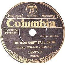 Blind Willie Johnson The Rain Don U0027t Fall On Me Wikipedia