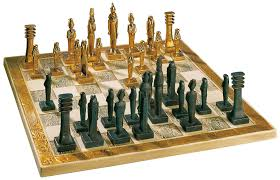 egyptian chess board egyptian chess set themed chess board 3d