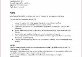 emploi femme de chambre hotel recherche emploi femme de chambre 853122 le méri n plaza