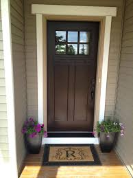 wooden exterior front doors craftsman style door bungalow