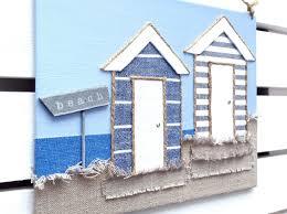 beach huts decor beach huts sign 3d beach hut wall art