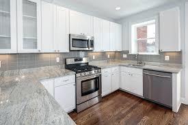 gray subway tile kitchen backsplash grey glass subway tile kitchen